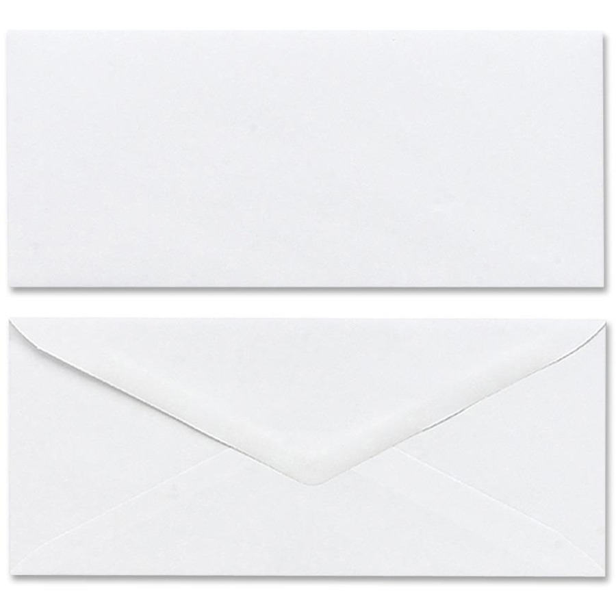 Mead 75050 business envelope 4 1 8 x 9 1 2 20 lb for 10 window envelope size