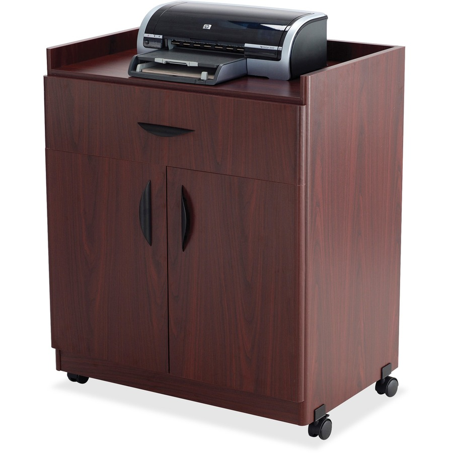 """Safco Printer Stand 200 lb Load Capacity - 36.3"""" Height x 30"""" Width x"""