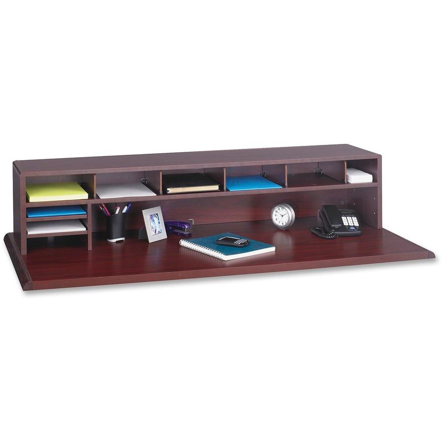 Safco low profile desktop organizer - Desk shelf organizer ...