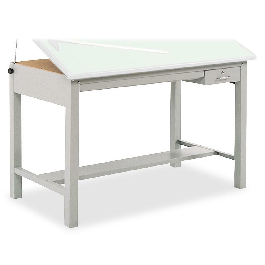 Drafting table dimensions - Safco Precision Drafting Table Base Saf3962gr
