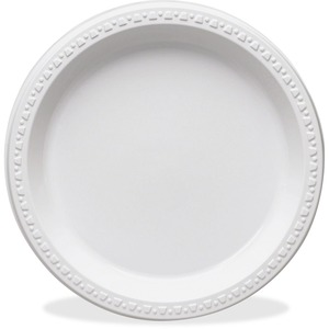 Tablemate Round Disposable Plastic Plates