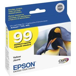 Epson Claria No. 99 Standard Capacity Yellow Ink Cartridge