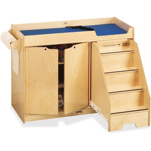 Jonti-Craft Pull-out Stairs Changing Table