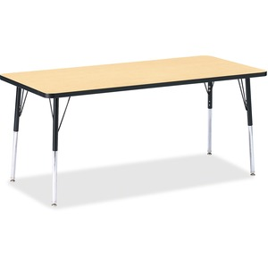 Berries Adult Height Color Top Rectangle Table