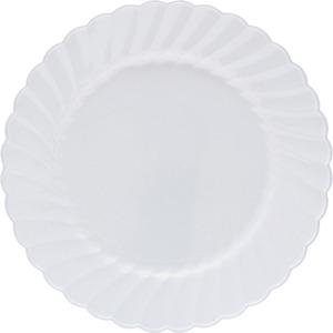 Classicware WNA Comet Heavyweight Plastic White Plates