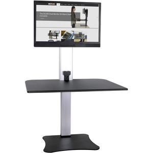 Victor High Rise Electric Height Adjustable Standing Desk Workstation