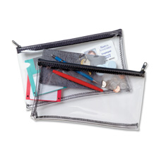 MMF Industries Clear View Vinyl Zipper Bag