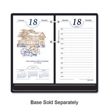 At-A-Glance Timepeace Motivational Desk Calendar
