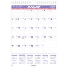 At-A-Glance Plan-A-Month Wall Calendars