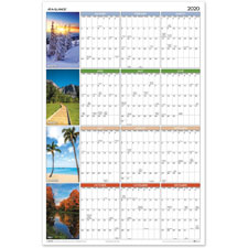 At-A-Glance Seasons in Bloom Wall Calendars