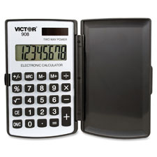 Victor 8-Digit Dual Power Pocket Calculator