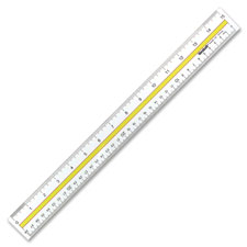 Acme Westcott Clear Document Rulers