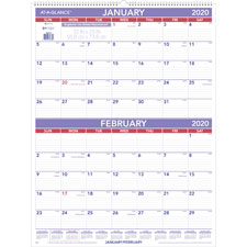 At-A-Glance 2-Months-Per-Page Wall Calendar
