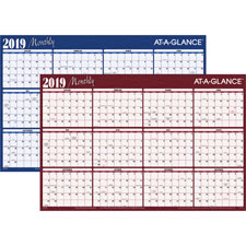 At-A-Glance Reversible Monthly Organizer Calendars