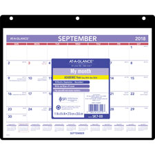 At-A-Glance 16-Month Dated Wall/Desk Calendar