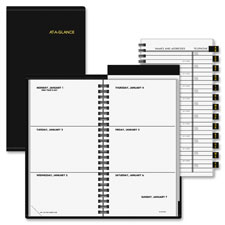 At-A-Glance Deluxe Pocket Weekly Planner