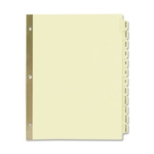 Avery Preprinted Laminated Monthly Tab Dividers