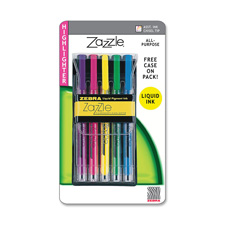 Zebra Zazzle Fluorescent Highlighters