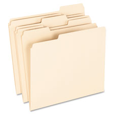 Esselte 1/3 Cut Earthwise Recycled File Folders