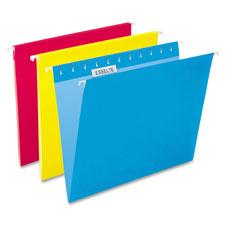 Esselte Colored 1/5 Cut Hanging Folders