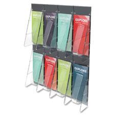 Deflect-O 8-Pocket Pamphlet Wall Rack
