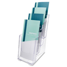 Deflect-O 4-Tier Literature Holder
