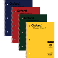 Ampad Evidence Single Wirebound Notebooks