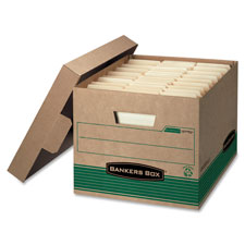 Fellowes Bankers Box Med Duty Recy. Storage Boxes