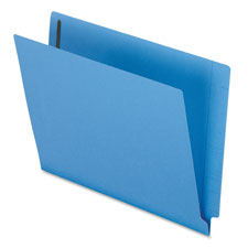 Esselte Colored End Tab Folders w/ Fasteners