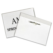 C-Line Pin Style Name Badge Holders