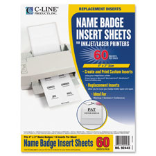C-Line Badge Insert Refills