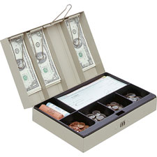 MMF Industries Combination Lock Portable Cash Box