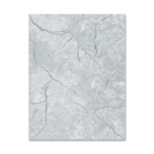 Geographics Marble-Gray Letterhead Stationery