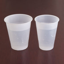 Plastic cup, 12 oz, 1000/ct, translucent, sold as 1 carton, 12 package per carton
