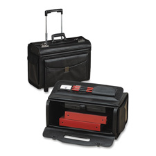 Sparco Catalog Laptop Computer Case w/ Rollers