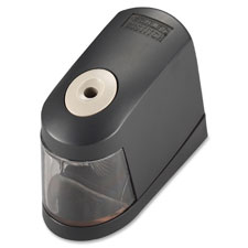 "Pencil sharpener,battery powered,4-1/4""x6""x2-1/4"",black, sold as 1 each"