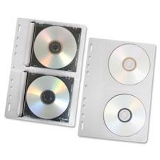 Fellowes Loose-Leaf CD Binder Sheets