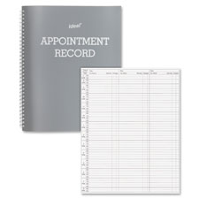 Dome Publishing Undated Spiral Appointment Book
