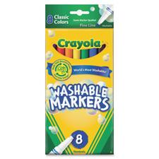 Crayola Washable Thinline Markers