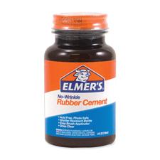 Elmer's ROSS 4 oz Bottle Rubber Cement w/ Brush