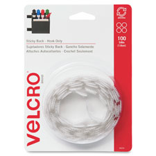 VELCRO Brand Sticky Back Round Coin Fasteners