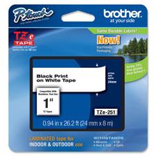 Brother TZ 1 Laminated Tape Cartridge