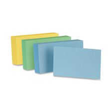 Esselte Colored Blank Index Cards