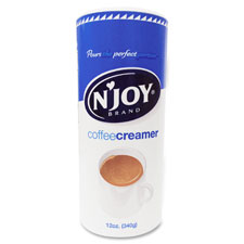 Powdered coffee creamer, nondairy, 12 oz canister, be, sold as 1 each