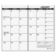 At-A-Glance Dated Monthly Appointment Book Refills