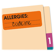 Redi-Tag Allergies Medi-Labels
