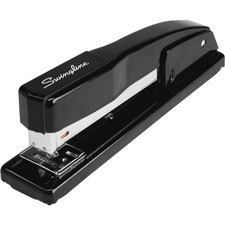 Commerical stapler, 210 staple/ 20 sht capacity, black, sold as 1 each