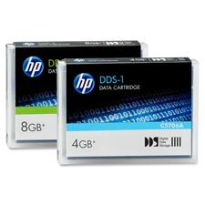 HP 4MM DDS1 & DDS2 Data Tape Cartridges