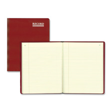 Rediform Red Vinyl Hard Cover Account Books