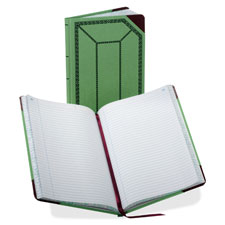 Esselte 67-1/2 Series Record-Ruled Canvas Books